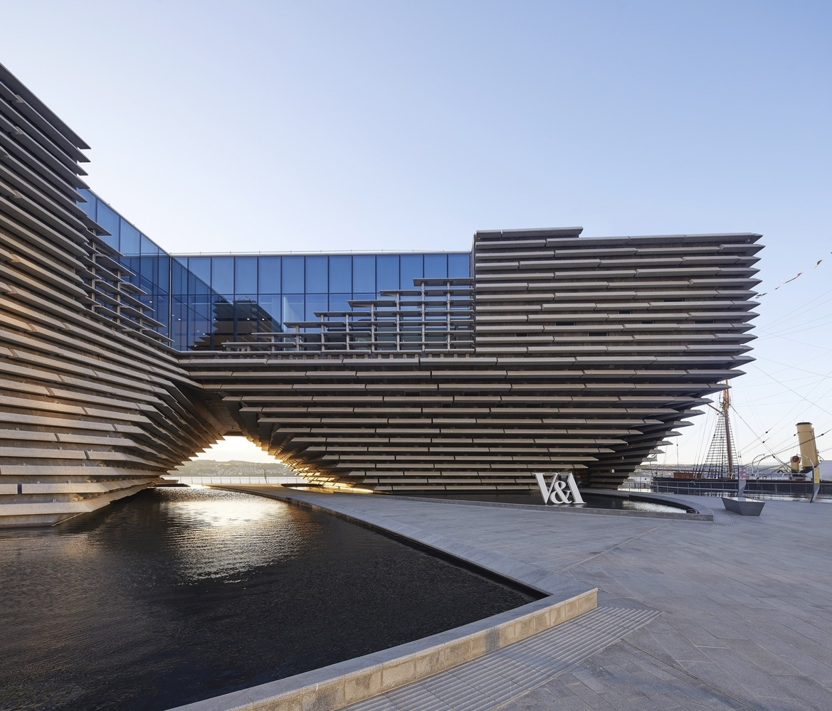 Kengo Kuma and Associates - V&A Dundee, @Hufton+Crow