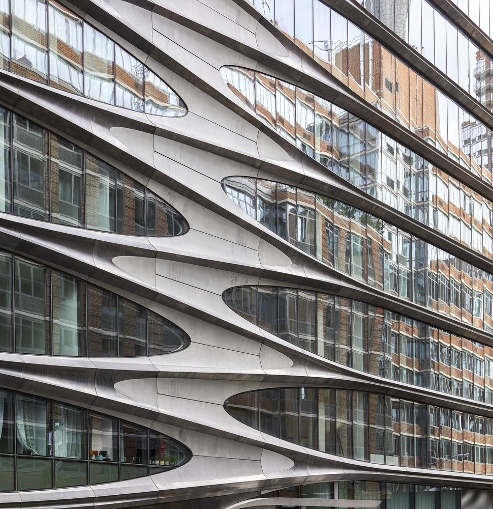 Zaha Hadid Arhitects - 520 West 28th, @Hufton+Crow