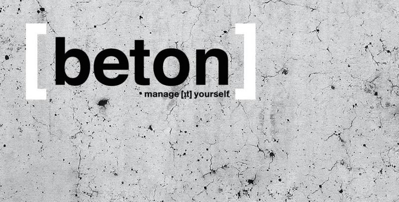 MANAGE [IT] YOURSELF - Beton