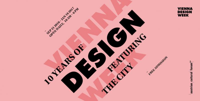 10 years of Vienna Design Week