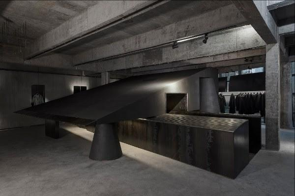Interior of the Year: Black Cant System by An Design