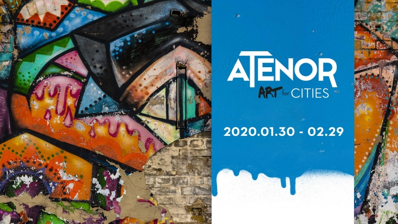 Atenor Art for Cities - Street Art Exhibition