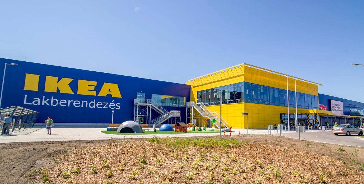 Ikea áruházak