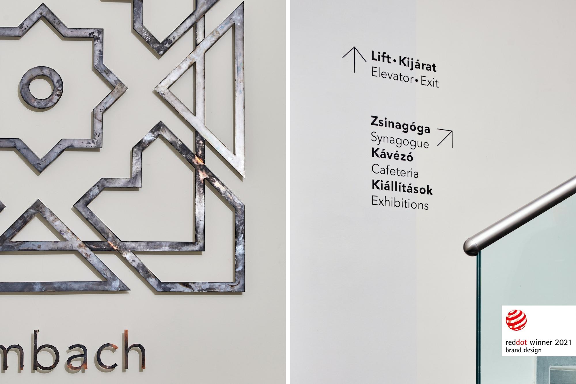 Red Dot díjat nyert a Rumbach Sebestyén utcai zsinagóga designkommunikációja