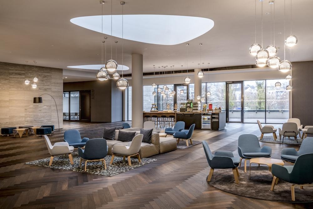 Bonaldo furnishes the Courtyard by Marriott Brno