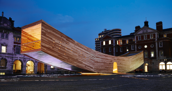 Alison Brooks Architects\' landmark installation