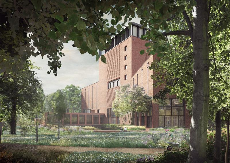 New building of Lambeth Palace Library